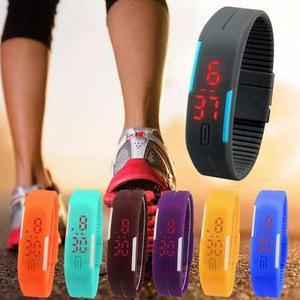 Reloj Pulsera Digital Led Silicona Deportivo Hombre Mujer