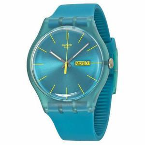 Reloj Swatch Turquoise Rebel Suol700 | Original Envío