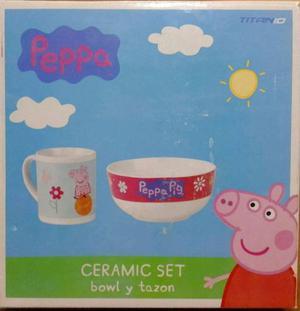 Set de desayuno Peppa Pig