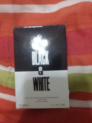 VENDO PERFUME PARA HOMBRE BLACK & WHITE 50ML