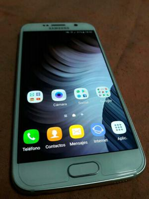 Vendo o Permuto Samsung S6 flat libre de fabrica
