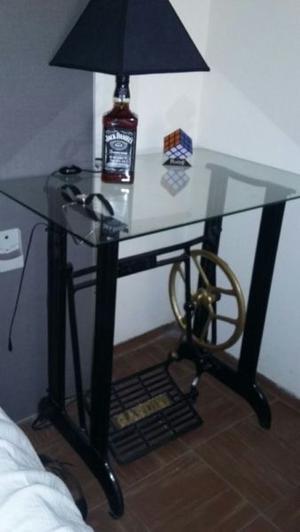 mesa decorativa artesanal