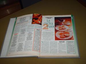 1 libro de cocina con 122 paguinas entradas,platos