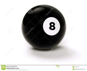 Bola Nº8 Para Pool