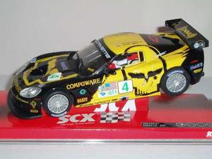 Chevrolet Corvette Scx Original Para Pistas Slot 1/32 Nuevo