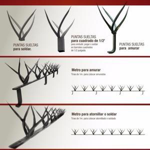 HIERRO – SEGURIDAD - PINCHES / PUNTAS DE SEGURIDAD
