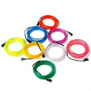Hilo De Neon Led (el Wire) C/ Inverter 12v Tuning 1 Mts