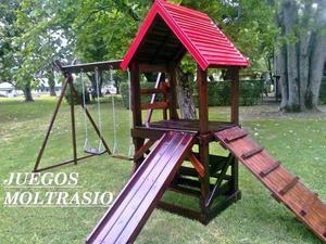 Hamacas de madera rosario posot class - Juegos de jardin para nios madera ...