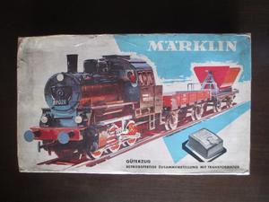 Tren Set Marklin  K con accesorios