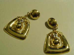 Cantidad limitada moda mejor valorada descuento especial Aros colgantes dorados biju muy fina | Posot Class