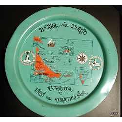 plato metalico tierra del fuego antartida e islas del