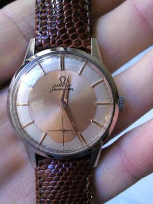 reloj antiguo pulsera omega impecable, digno de ver!!