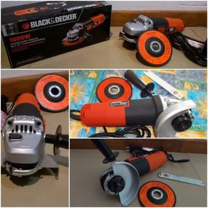 Amoladora Angular Black Decker w