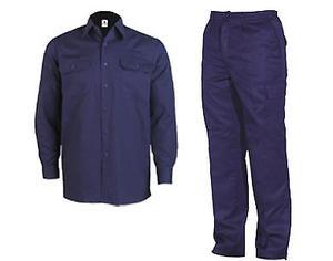 Camisa Y Pantalon T/grafa-ombu-pampero Color Azul Mario T 42