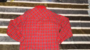 Camisa escosesa de pana t.40/2 vintage