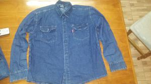 Camisas de jeans hombre