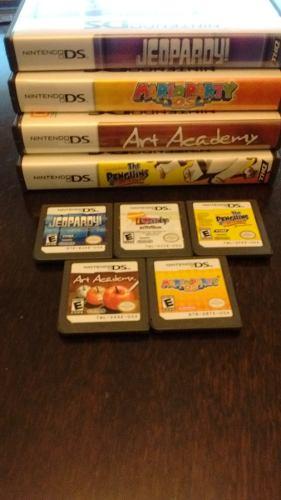 Lote 5 Juegos Nintendo Ds