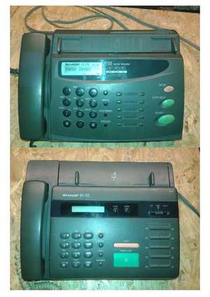 Lote De 2 Fax Sharp Ux-101 Y Ux178 Para Reparar O Repuestos