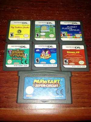 Lote Juegos Nintendo Ds / Lite; Game Boy / Color / Advance