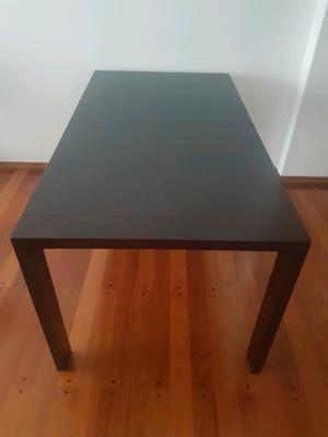 Mesa madera comedor moderna a super precio posot class - Mesa y sillas modernas ...