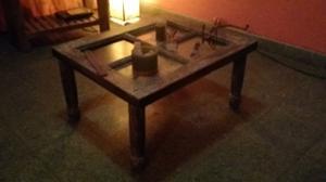 Mesa ratona decapada