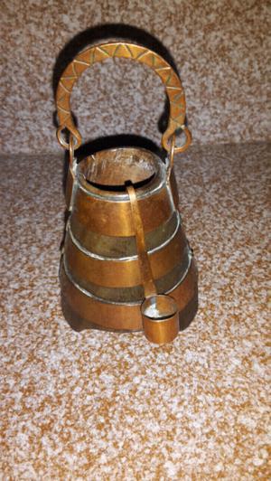 Tacho de madera y cobre