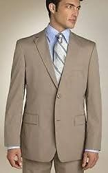 Vdo traje tostado, de regalo camisa y corbata al tono - Te.