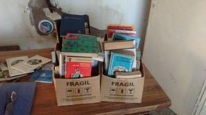Vendo URGENTE lote de libros usados.