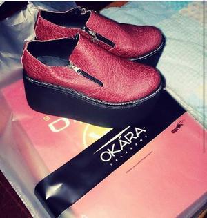 Vendo zapato alto!!!!