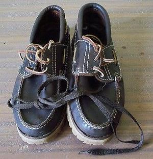 Vendo zapatos de cuero Talle 40
