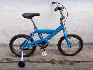 bicicleta r16 con rueditas usada en buen estado
