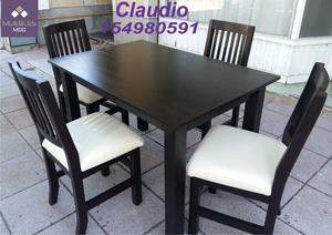 mesas fijas y extensibles y sillas fabrica