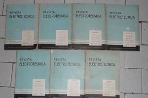 revistas electrotecnica antiguas