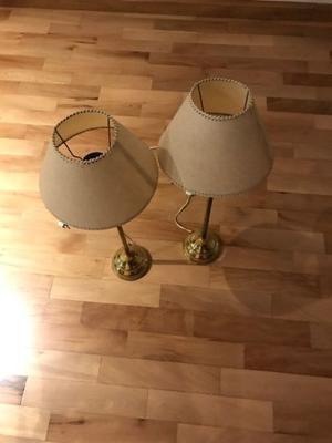 vendo 2 lamparas perfecto estado muy poco uso $400 C/U. $800