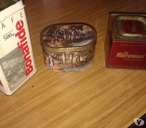 vendo lote de 3 latas antiguas