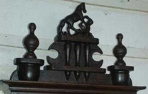 Antiguo reloj de pared a pendulo garantia