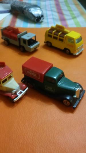Autitos de colección de coca cola