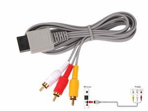 Cable Rca Clasico Nintendi Wii Conexion Audio Video