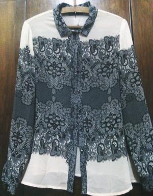 Camisa para mujer de gasa. NUEVO.
