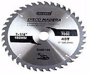 DISCO DE WIDIA CORTE DE MADERA 115X40D X 2 UNIDADES