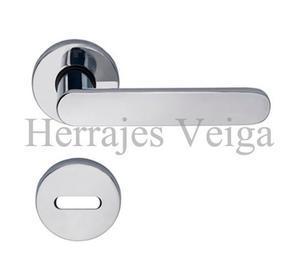 Manija picaporte doble currao tropea inoxy posot class - Picaporte puerta aluminio ...