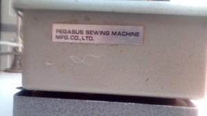 Maquina Remalladora Pegasus 3 hilos