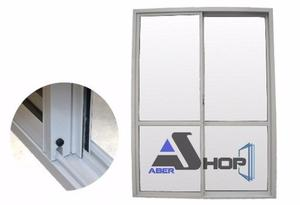 Ventana Aluminio 240x200 Balcon Herrero Ve Abershop