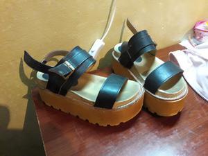 Zapatos plataforma numero
