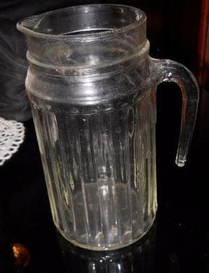 jarra de vidrio retro Vintage.