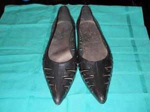 zapatos de plastico en punta lady stork 37/8