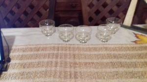 5 copas champagne sidra
