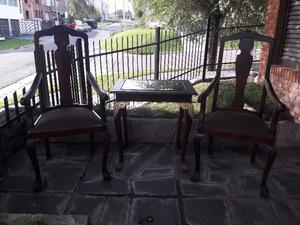 Vendo juego de sillones estilo antiguo posot class - Sillones de estilo ...