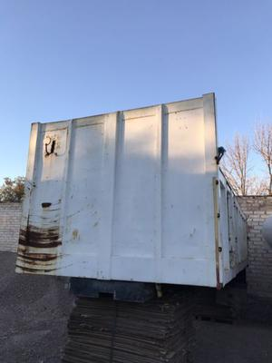 Carroceria volcadora para camion