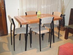 Comedor 4 sillas Nuevo !! Flete sin cargo !!!